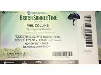 2 X Phil Collins Tickets