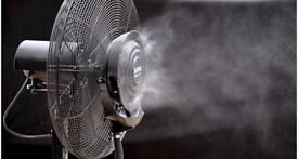 Commercial Grade Mist Cooling Fan 26'