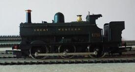 Hornby Railways 00 Gauge R059 ( 1980 to 1981 ) GWR Class 2721 0-6-0 Pannier Tank - Running No. 2744