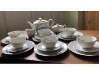 "Vintage 1950's Seltmann Weiden Bavarian ""Ingrid"" Tea Set"