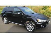Mitsubishi Outlander GX4 7 seater top of the range, mint car