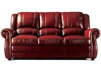 Designer Leather WoodStock Sofa £1249