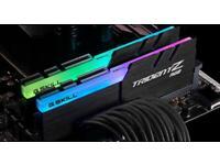 G Skill Tridentz RGB 16GB 3200mhz 2x8GB Gaming RAM Memory
