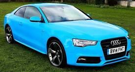 Audi A5 Quattro. 2.0 TDI. S Line
