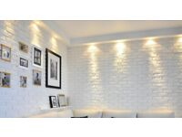 Decorative Gypsum Bricks, Decorative Wall Cladding, White Bricks