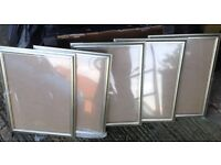 9 BRAND NEW PICTURE FRAMES NEVER BEEN USED