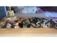 Crystal chakra quartz bracelets