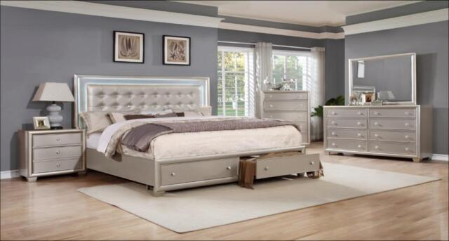 special beautiful royal bedroom set on sale 3pcs queen size