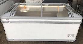 1.8m AHT Chest Freezer Frozen Food Commercial Shop Ice Cream