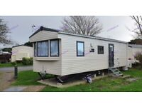 Late booking. 2 bed caravan for hire/rent, Selsey, Bunn Leisure, available this weekend.