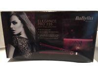 BaByliss Pro 235 Elegance Straightener, Red