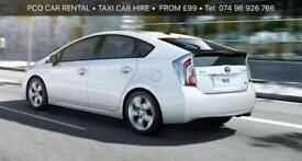 PCO..HIRE..CAR..RENTAL..TOYOTA..PRIUS MINICAB HIRE/ RENTAL LONDON MINICAB