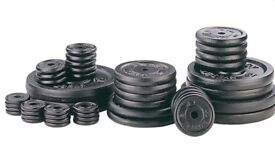 Weight Plates Cast Iron Standard 1inch Fitting Weight Plates