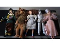 WIZARD OF OZ COLLECTION 13'' DOLLS AMAZING