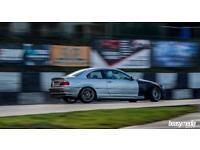 BREAKING BMW E46 3 Series 330Ci Drift Car for parts - stripped