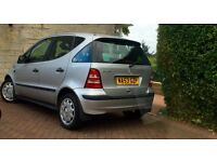 2003 Mercedes A class 1.4 full year mot with full service history