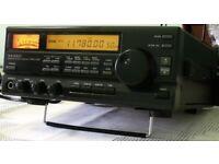 YAESU FRG-100 Radio RECIEVER CW, SSB,AM FM modes + longwire antenna