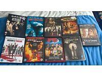 dvds £1.50 each