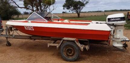 Pride Starfire GT with 115hp Johnson Outboard