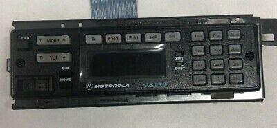 Motorola Astro Radio Control Head Face Plate Mhln6432e