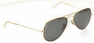 Ray-Ban AVIATOR RB3025 W3234 Brille Gold glasses *prescription Lens / opt. Gläse