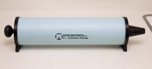 Spirometrics 3 Liter Calibration Syringe