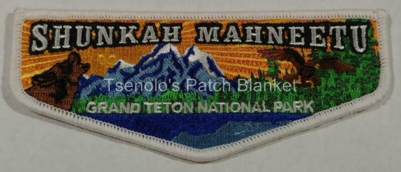 Shunkah Mahnteetu Lodge 407 2016 Jamborall Grand Teton Nat Parks Centennial