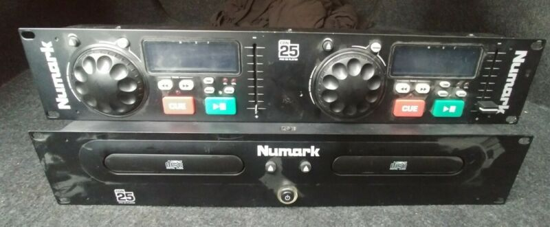 Numark CDN-25 Professional Dual Cd Player - In Working Condition