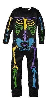 arneval Skelettkostüm Overall Gr.S 116 (4-6 Jahre) (Halloween 4 Overall)