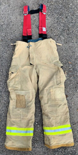 Innotex Fire Fighter Turnout Pants w/ Suspenders 40-XL