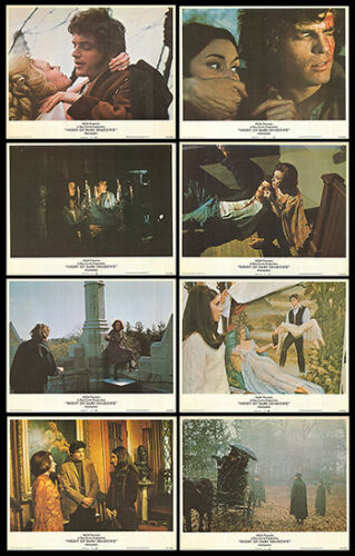 NIGHT OF DARK SHADOWS original 1971 lobby card set LARA PARKER/KATE JACKSON