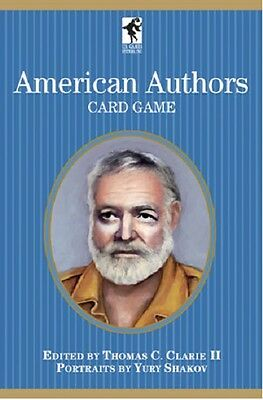 American Authors Card Game Playing Cards -