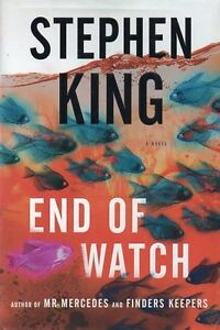 STEPHEN KING END OF WATCH FINAL BOOK MR. MERCEDES TRILOGY