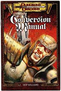 AD&D 2nd Edition to 3.0 CONVERSION MANUAL