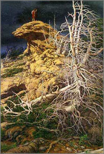 "Bev Doolittle Print = ""Prayer for the Wild Things"""