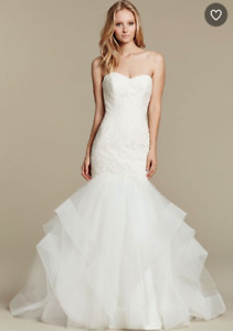 Hayley Paige Wedding Dress Azi Gown 50% off