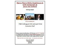 Marco Pierre White Steakhouse & Grill @ Jurys Inn Oxford ***RECRUITING NOW!!!***
