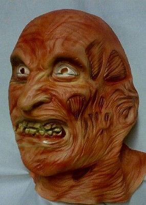 eet Deluxe Freddy Krueger Adult Mask 3319 (Freddy Krueger Deluxe Maske)