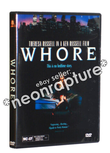 WHORE DVD (1991) Theresa Russell Ken Russell NC-17 version