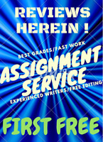 Homework/Assignment. We will do it-with a 90% guarantee! Reviews