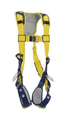 Xl Dbi Sala Delta Comfort Vest-style Positioning Harness Shockwave 2 Lanyard