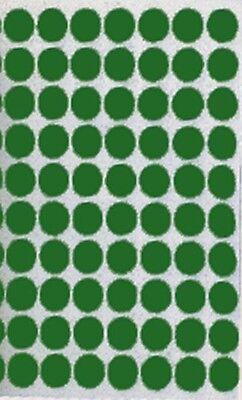 "1/2"" Green Trophy Protective Felt Dot Pads 1, 000 pc lot"