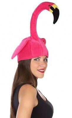 Hut Flamingo rosa Zubehörteil Kostüm Frau lustig Animal neu billig