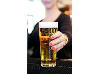 FULL & PART-TIME BAR STAFF - FOOD PUB IN FULHAM - EXCELLENT PAY/REWARDS