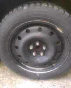 Winter tires on rims Stratford Kitchener Area image 1