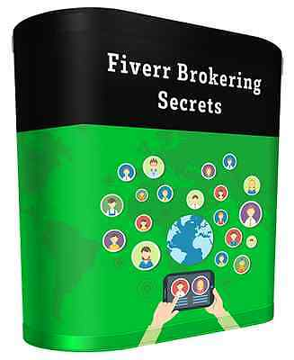 Fiverr Brokering Business Secrets  Videos On 1 Cd