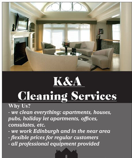 K&A CLEANING SERVICES\