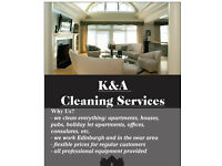 """K&A CLEANING SERVICES""- high quality-best price!!! ALL EDINBURGH AND IN THE NEAR AREA"