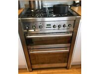 Smeg Dual Fuel Double Oven Cooker