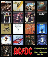 AC/DC 17 cd box set new in box, sealed
